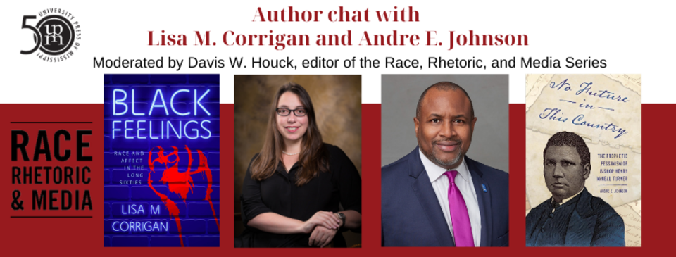 Author chat with Lisa M. Corrigan and Andre E. Johnson